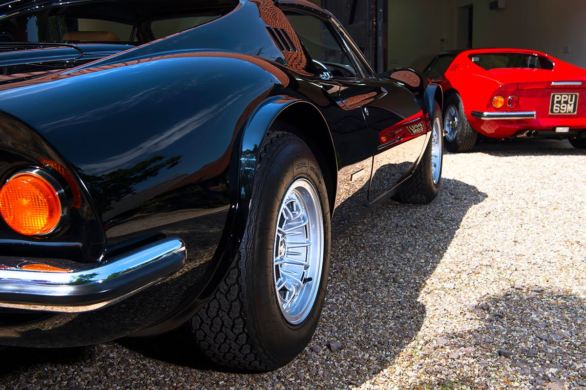 1973 Ferrari Dino 246 GTS Spyder